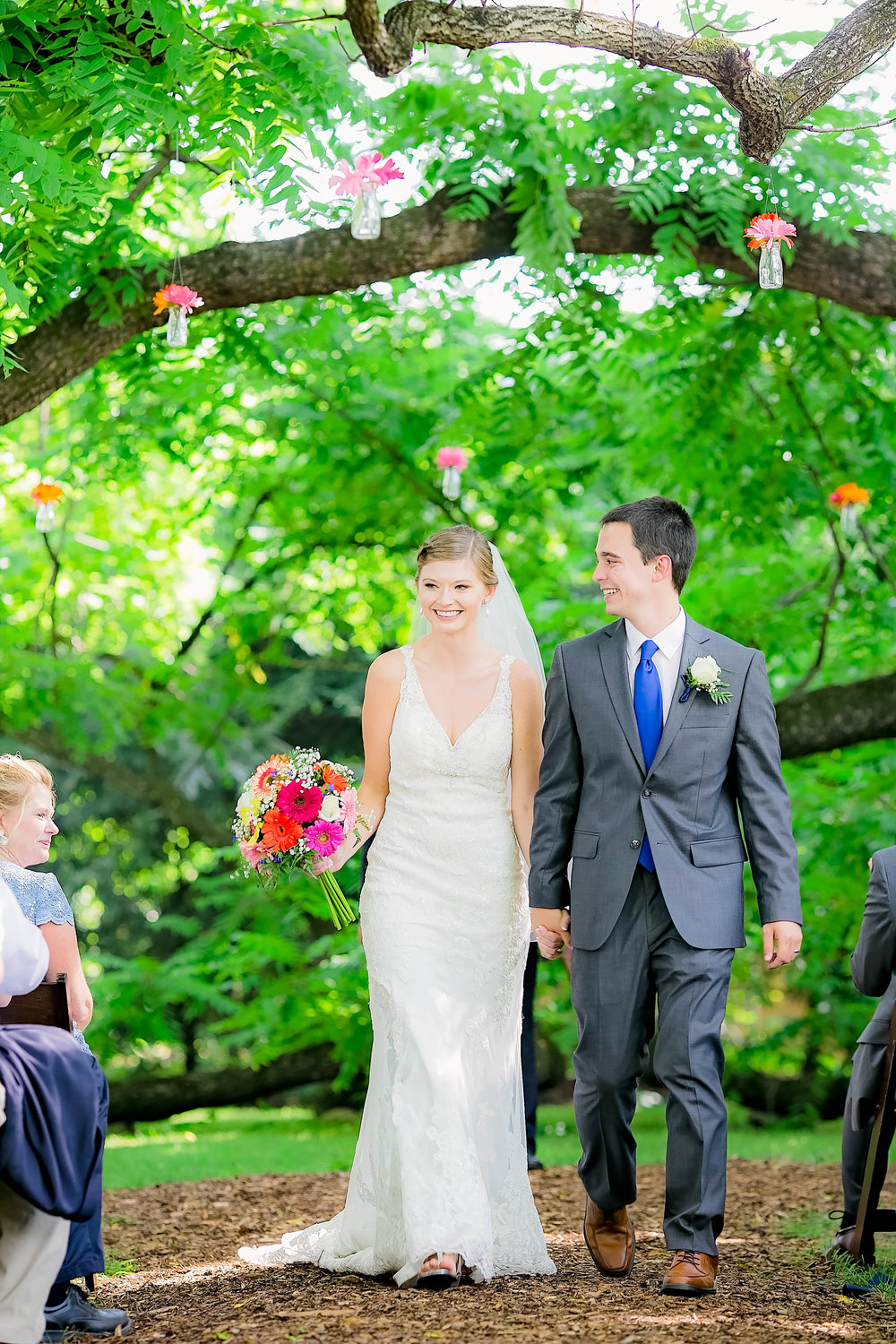 Hot Springs, NC wedding, East Tennessee Wedding photography, wedding ceremony, bride and groom