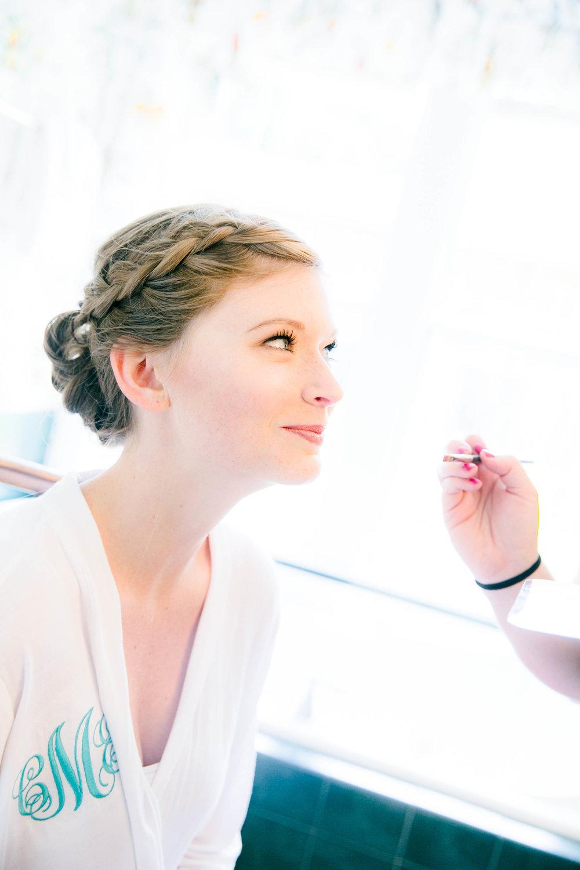 Hot Springs, NC wedding, East Tennessee Wedding photography, getting ready, bridal hair, wedding makeup