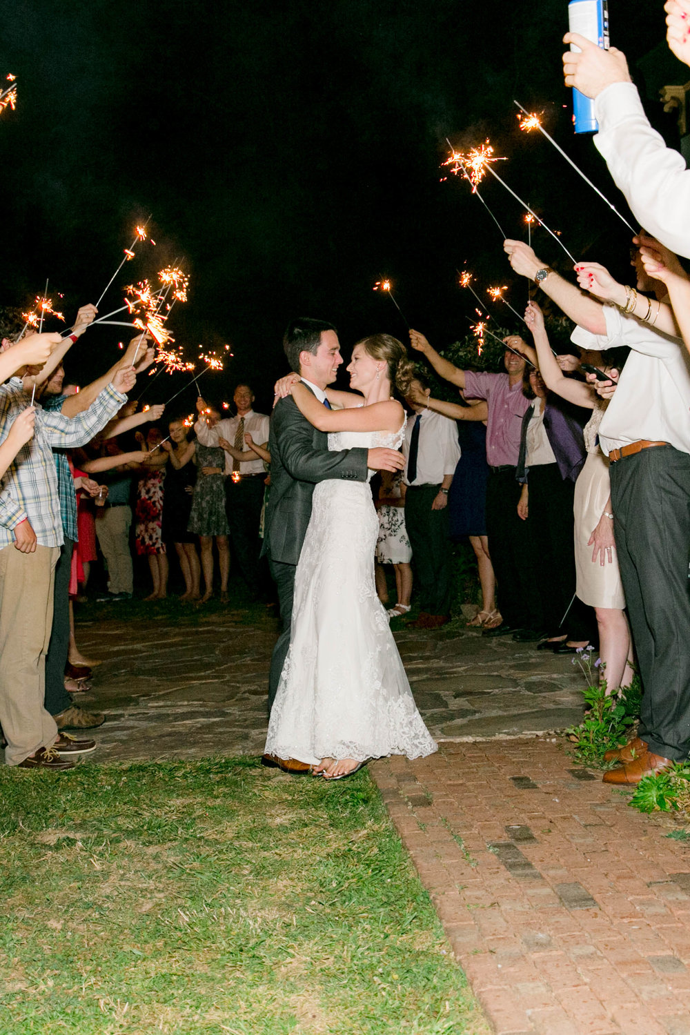 Hot Springs, NC wedding, East Tennessee Wedding photography, wedding reception, sparkler exit