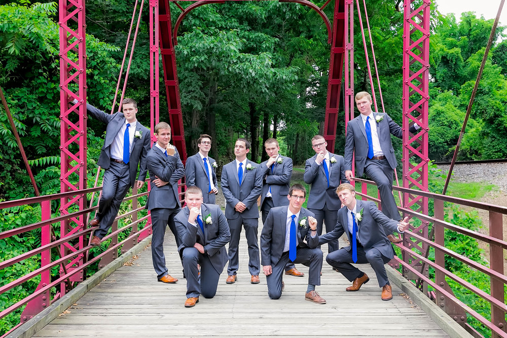 Hot Springs, NC wedding, East Tennessee Wedding photography, wedding party,  funny groomsmen