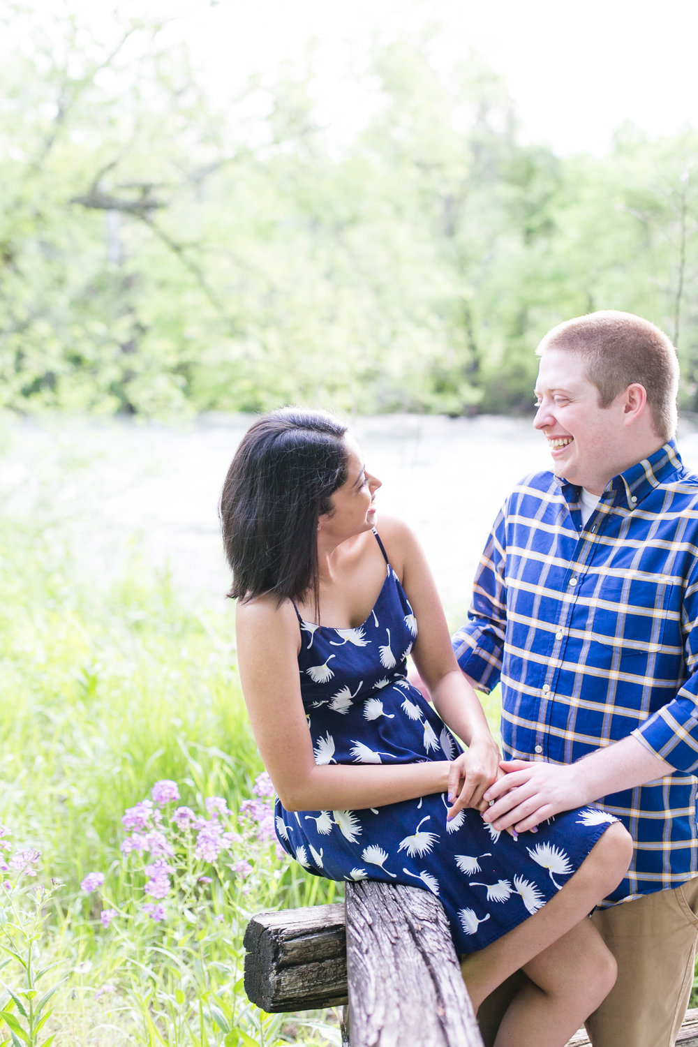 Johnson City wedding photography, Elizabethton engagement session, Tri Cities TN wedding photographer, East Tennessee wedding photography, Sycamore Shoals State Park engagement, giggling couple