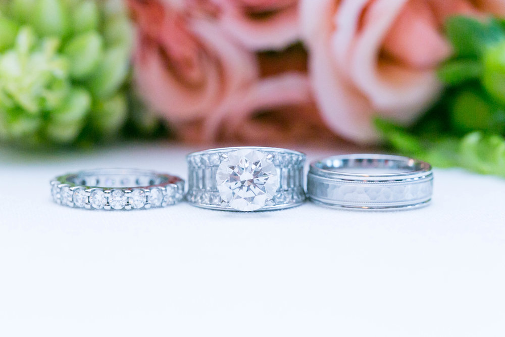 Johnson City Country Club wedding, East Tennessee wedding venue, Tri Cities TN wedding photographer, wedding bands, wedding ring, engagement ring