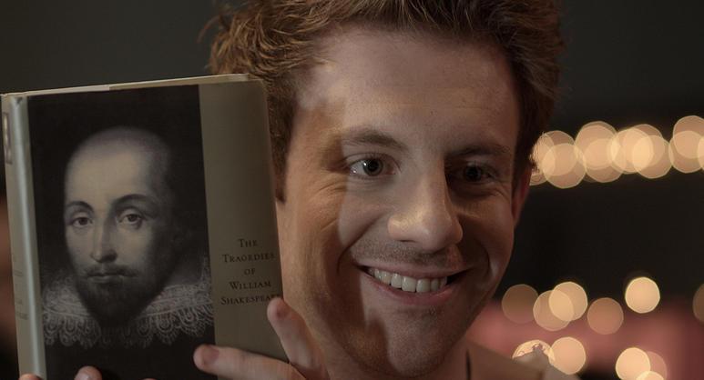 BBC's Craig McDonald Kelly as the manic pixie dream boy, Ish.