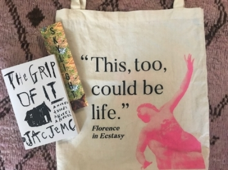 Because you can never have enough books or tote bags, right?