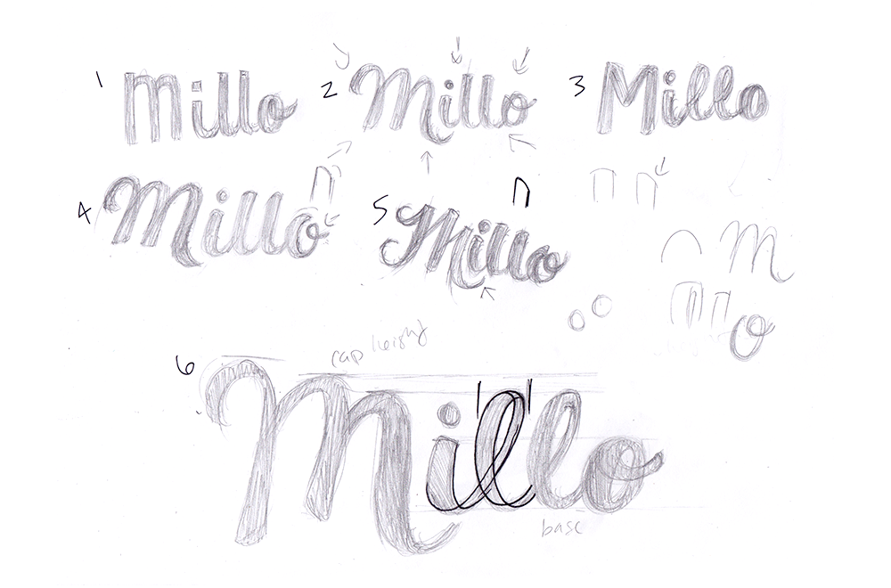 Millo Process- Thumbnails