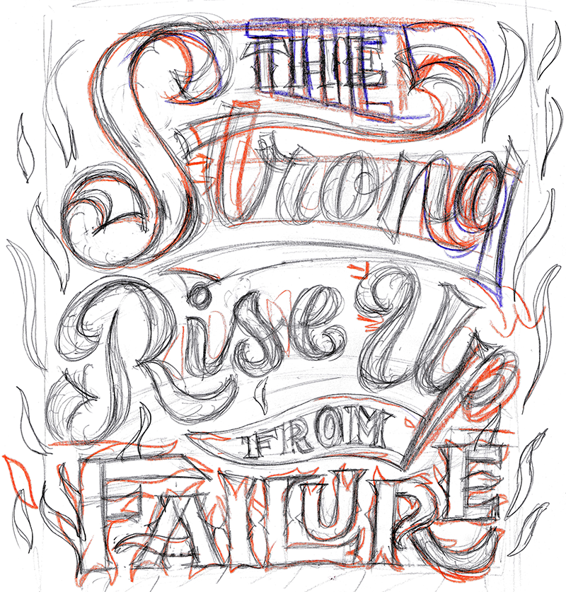 Hand Lettering Style Draft 1