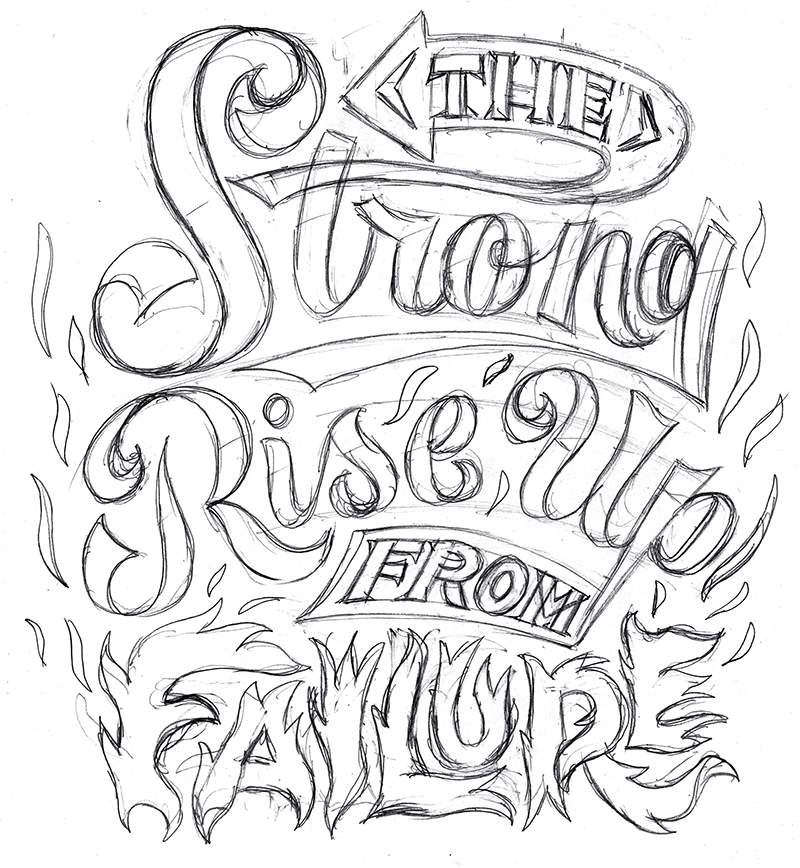 Hand Lettering Style Draft 2