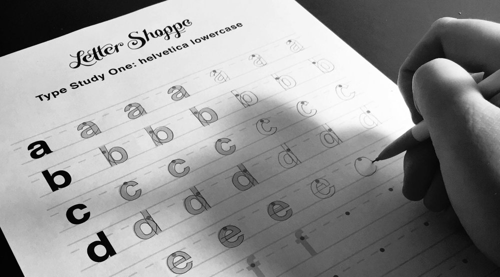 sign up for my free lettering practice sheet