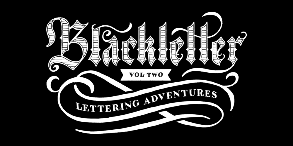How To Draw Blackletter Lettering