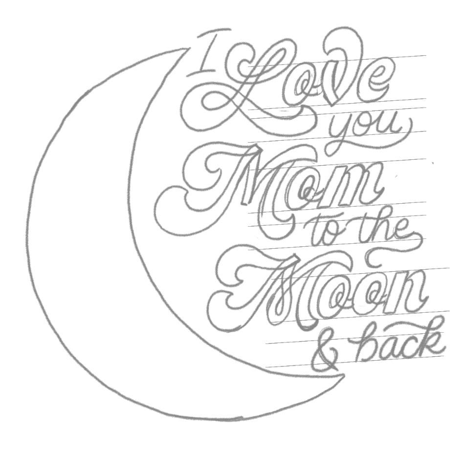 hand lettered mother s day tutorial Great Sales Cover Letters for your own piece i would re mend using 70 s script for your main keywords and another simpler style of script for the rest like a basic sans serif