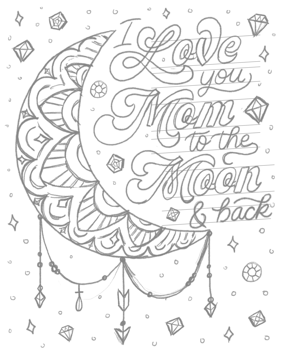 hand lettered mother s day tutorial Inside Sales Manager Cover Letter illustration