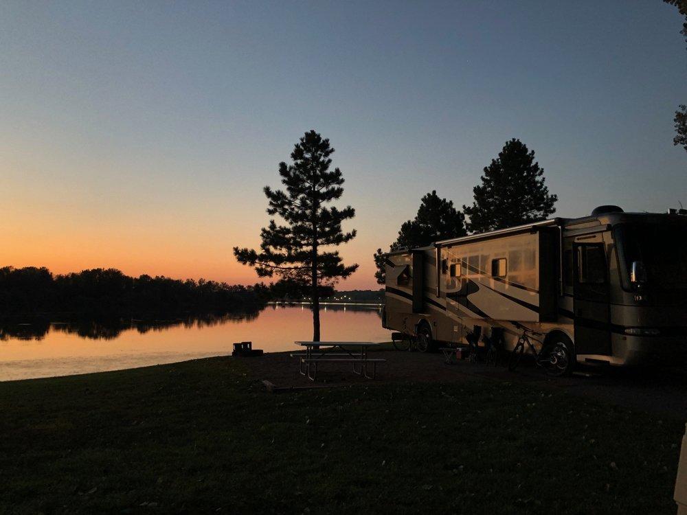 Overlooking the Lewis and Clark Lake / Cottonwood / Yankton SD, Nebraska border