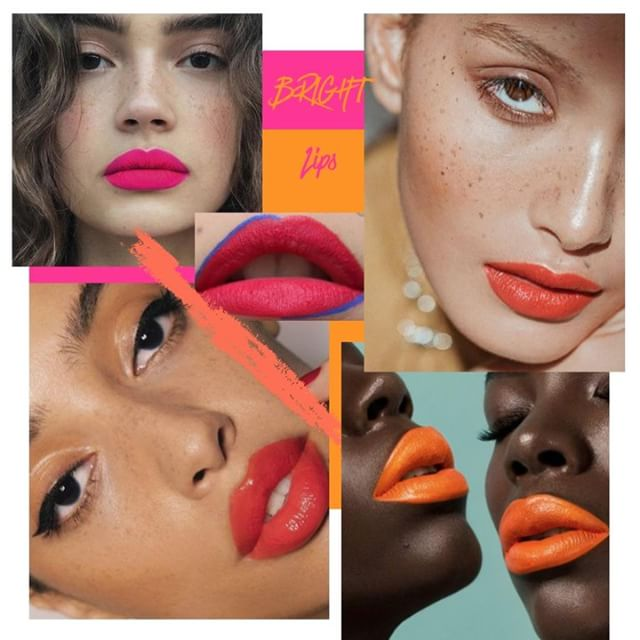 INSPO I  Brightening up our dullest days with something trivial and fun, bright lipstick! • • • • • • #theeveproject #theoriginalwoman #community #news #woman #female #feminism #supportwomen #girlboss #blog #blogging #ethical #ethicalbrands #sustainable #sustainablebrands #reviews #collages #inspiration #advice #philanthropy #supportsmall #smallbusiness #beauty #brightlips #lipstick