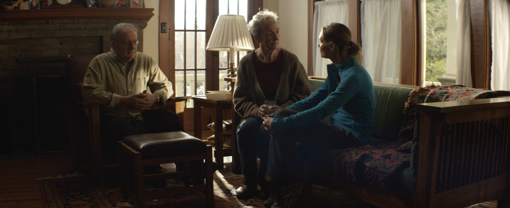 Frank Corrado, Kathleen Chalfant, and Cheyenne Casebier
