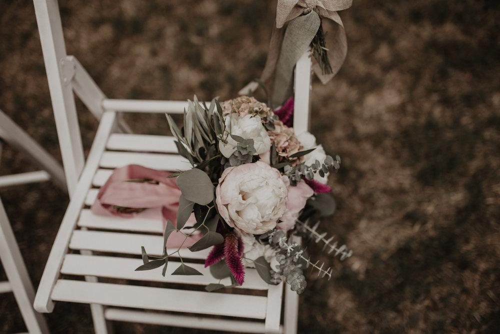 ramo de novia, boda boho, boda civil, boda en girona, fénix visual,