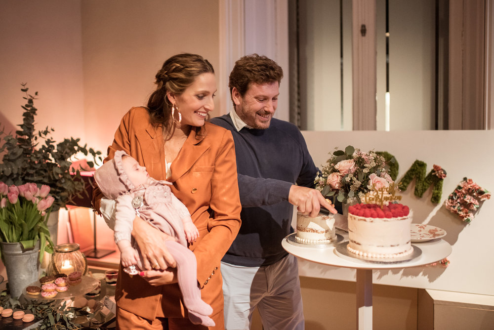 corte de tarta, miss cavallier, fénix visual, eventos en barcelona, welcome contanza
