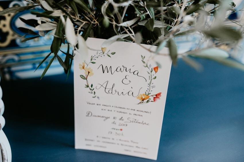 invitación de boda, fénix visual, videografo boda barcelona
