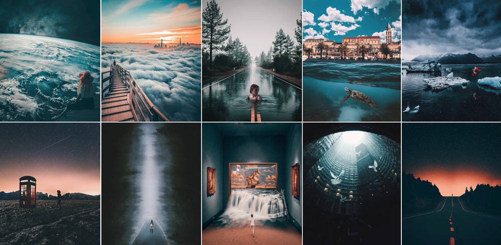 Collection of remixes by Renato Prkic (@8thdamon) using Unsplash photos
