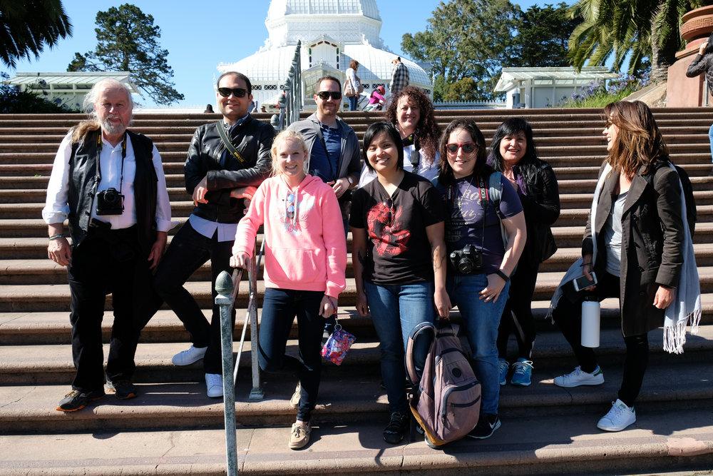 The photowalk group