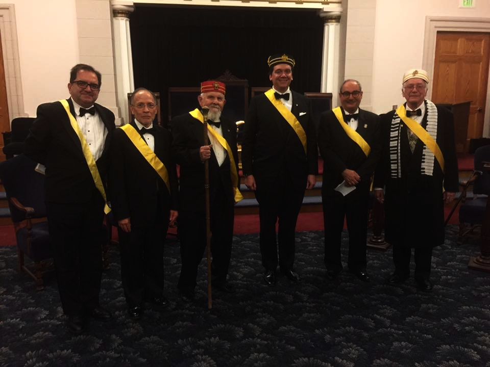 CAST MEMBERS OF THE LOS ANGELES SCOTTISH RITE 2017 4TH DEGREE, SECRET MASTER