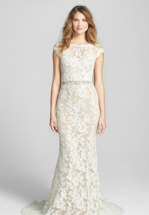 5005 by Reem Acra   Size 8/Ivory/Nude  $5,500 now $1,650