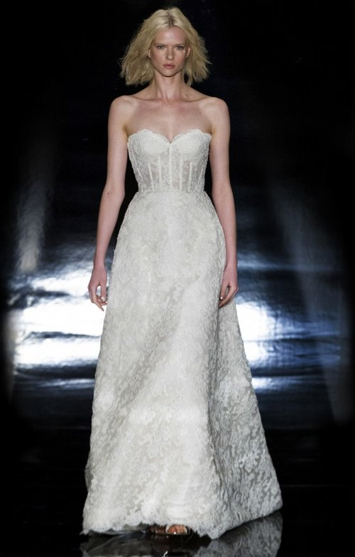 5538 by Reem Acra  Size 10/Cream  $5,500 now $2,750