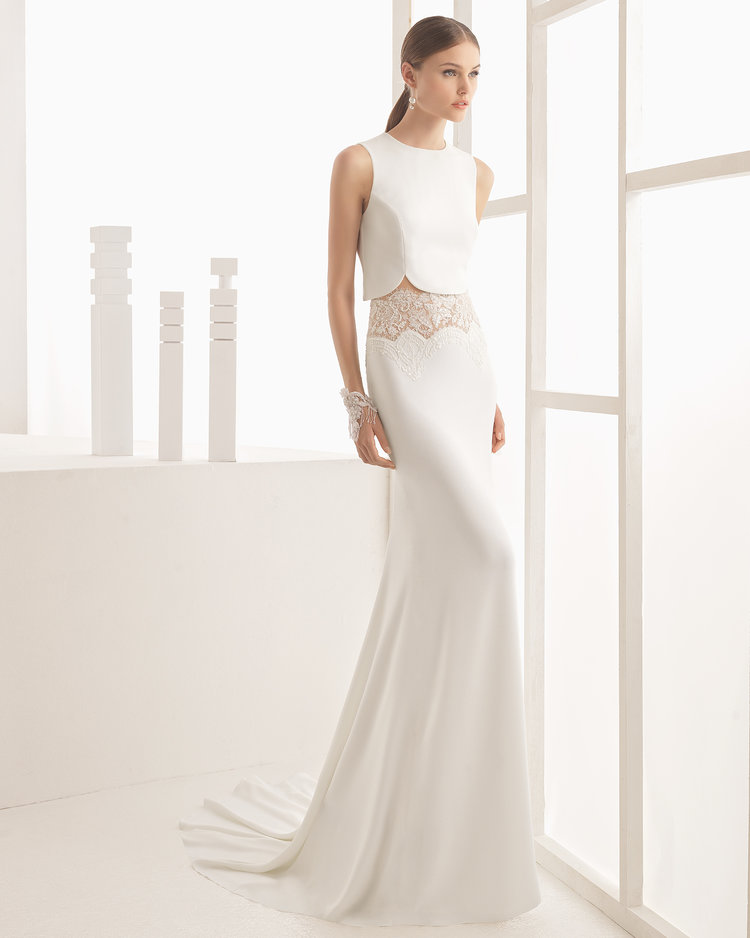 Nicea by Rosa Clara  Size 10/Natural  $4,275 now $2,137.50