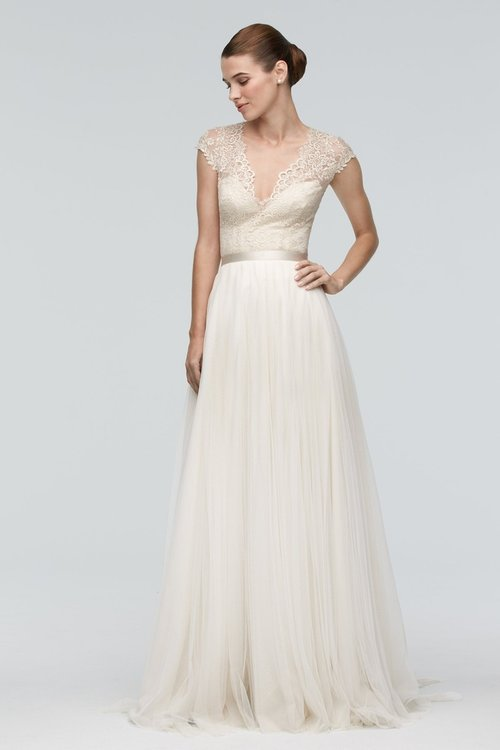 9013B by Watters (Top Only)  Size 10/Antique/Ivory/Lt. Nude  $460 now $230