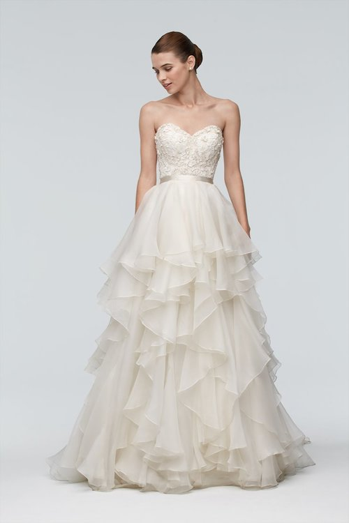 9015B by Watters (Top Only)  Size 10/Ivory  $1,260 now $630