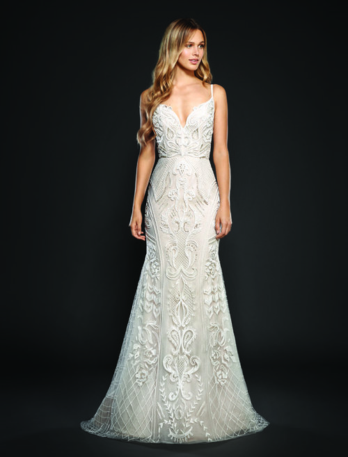 Maverick by Hayley Paige   Size 10/Ivory/Cashmere  $4,970 now $2,485