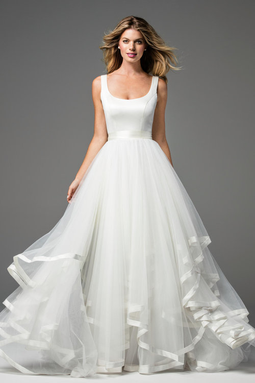 18240 Wtoo by Watters  Size 8/Ivory  $990 now $495