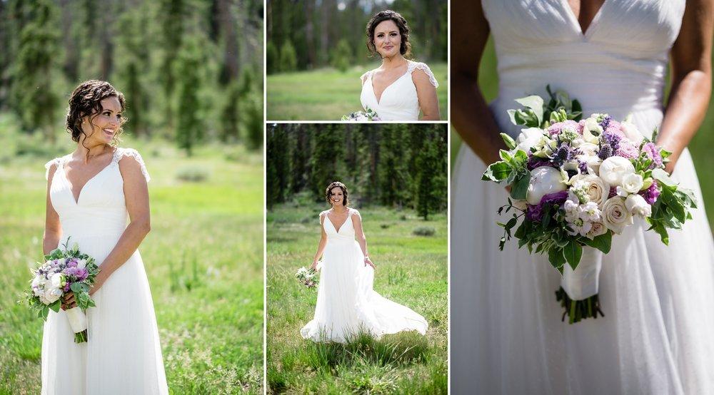 Beautiful Bride at AA Barn