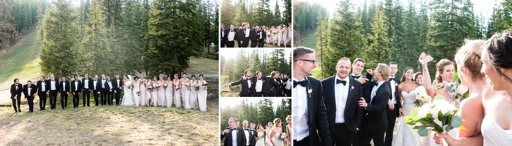 Alli and Mike's Bridal Party