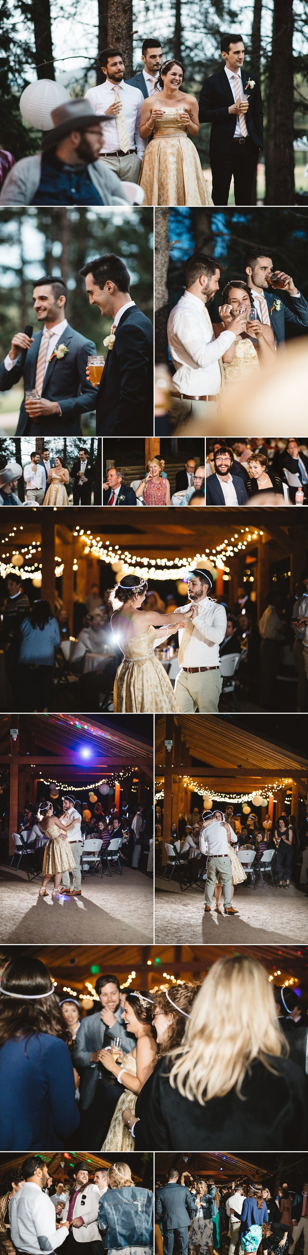 Nothing could top this night off better than a dance floor under the stars!