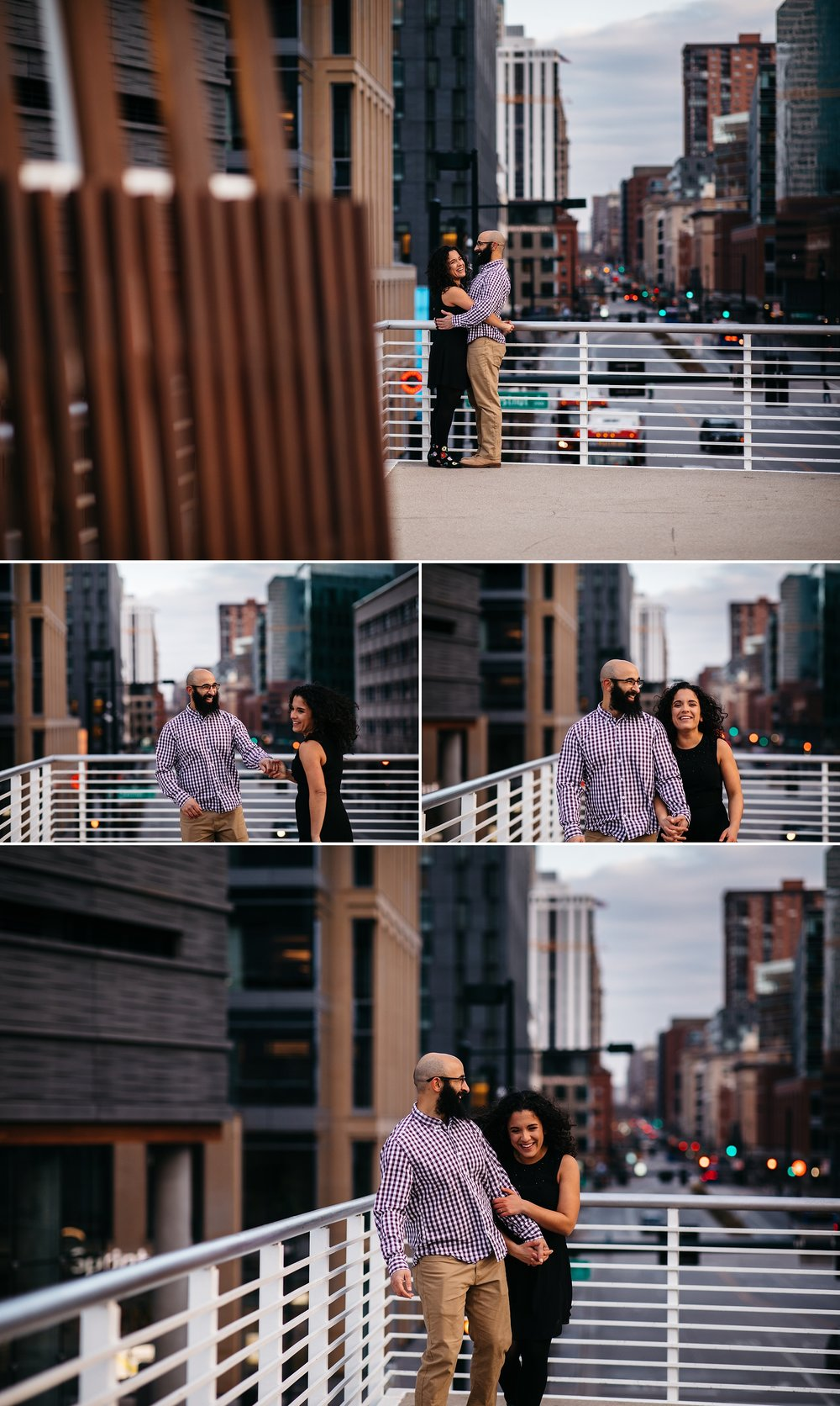 urban Denver engagement photographer