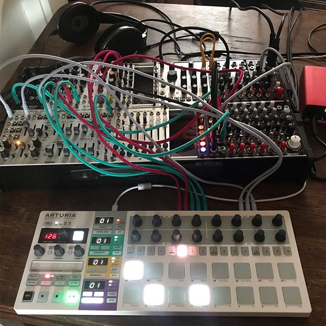 Modular times... . . . . . . #techno #musicproducer #musicproduction #dj #live #recordlabel #cortexrecordings #modularsynth #modulars