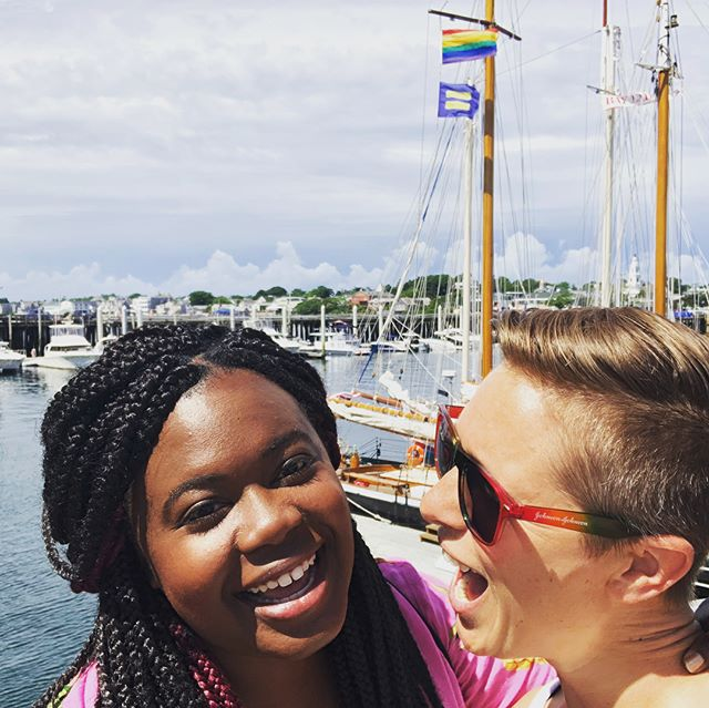 Another week, another location! This time it was #Provincetown for #PTownFamilyWeek Had so much fun capturing amazing stories with @FamilyEquality, meeting fun colleagues like @edmundharris @raquelsaraswati and of course, skipping around being happy and gay with @buffiesh! #lunaisamerica