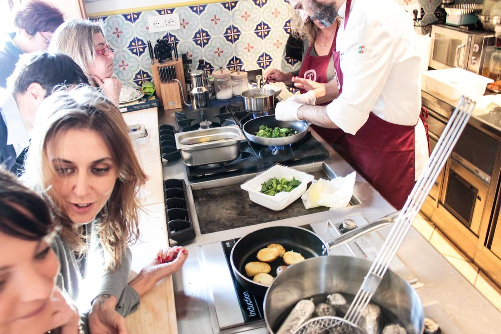 cooking class italy