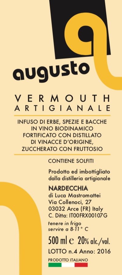 artisan vermouth