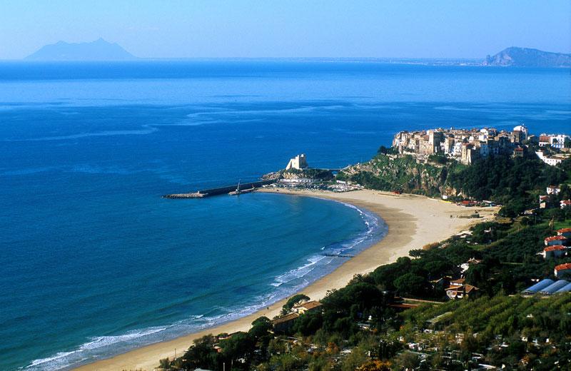 beach near Rome italy