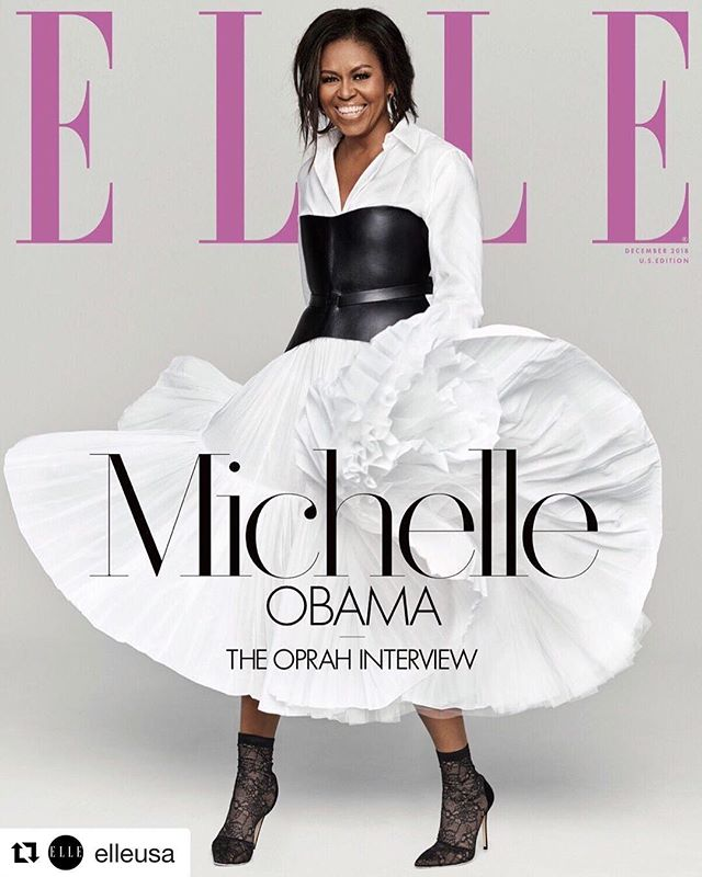 Glorious! Our Forever FLOTUS 🙌🏾✨✨✨ #blackexcellence