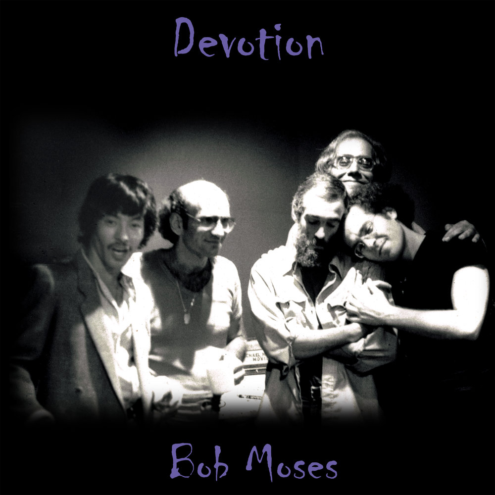 DEVOTION   E-mail your order   Release Date: 1979 Re-Issued: 2012  Label: Ra-Kalam Records  David Liebman (Tenor Saxophone)  Terumasa Hino (Cornet)  Steve Kuhn (Piano)  Steve Swallow (electric bass)  Bob Moses (Drums, Percussion, Voice)