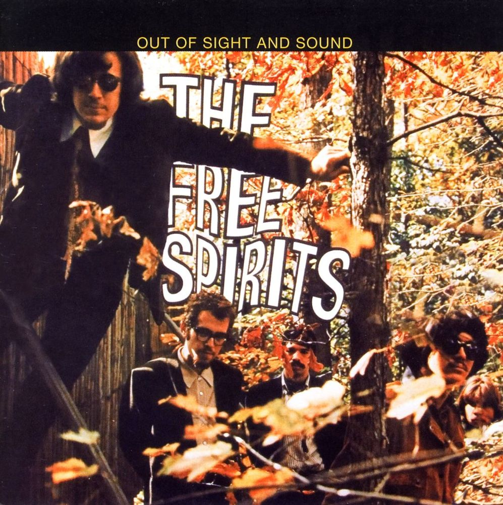FREE SPIRITS: OUT OF SIGHT AND SOUND  Compact Disc:    E-mail your order    Recorded: 1967 Re-issue: 2006   Label:   Sunbeam    Larry Coryell  (guitar, sitar, voice)  Chip Baker  (guitar)  Jim Pepper  (sax, flute)  Chris Hills  (bass)  Bobby Moses  (drums)