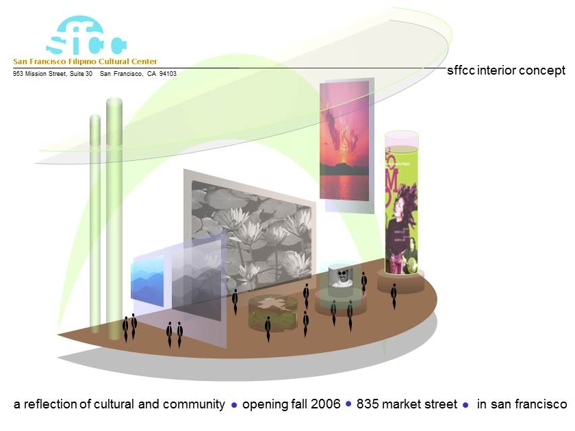 SFFCC interior concept rendering from 2006