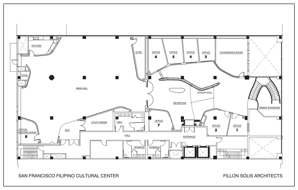 SFFCC Venue Floor Plan
