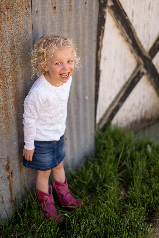 Child at Farm
