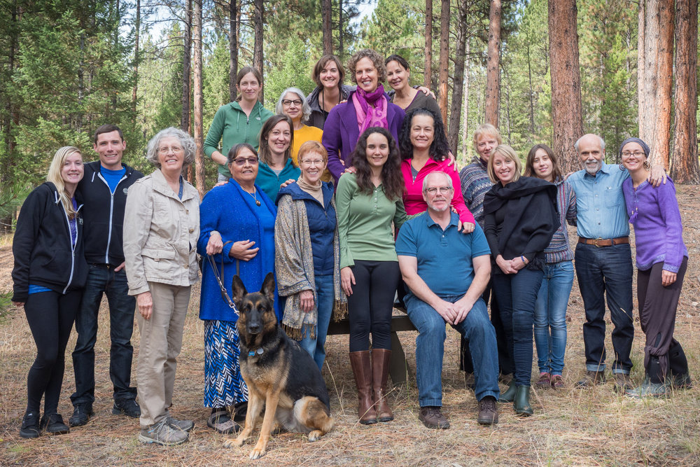 Reiki Master Retreat - We had a weekend retreat in Lubrecht Forest with 22 Reiki Masters. Our two presenters were Ann Stevenson and Darnell Rides At The Door.