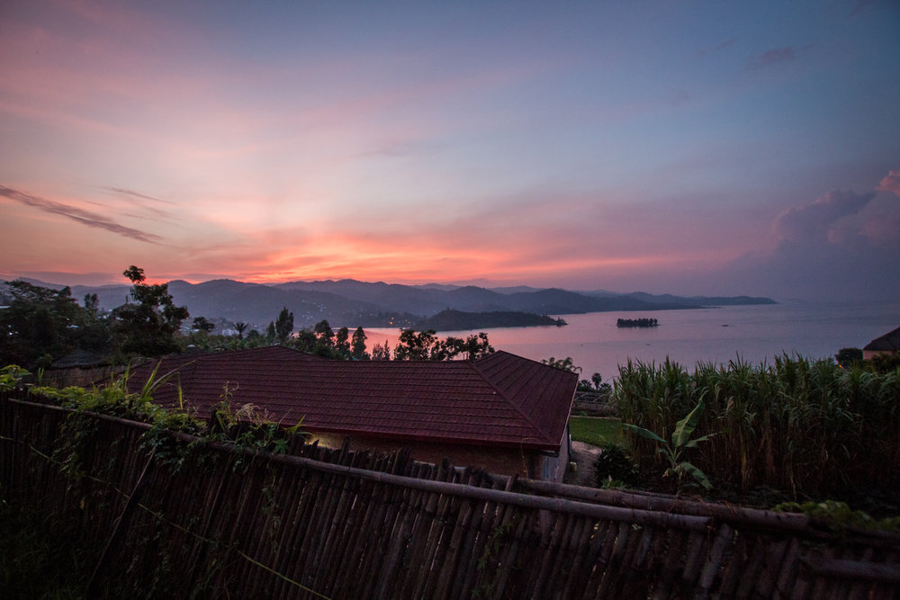 Sunrise vibes and views from Inzu Lodge
