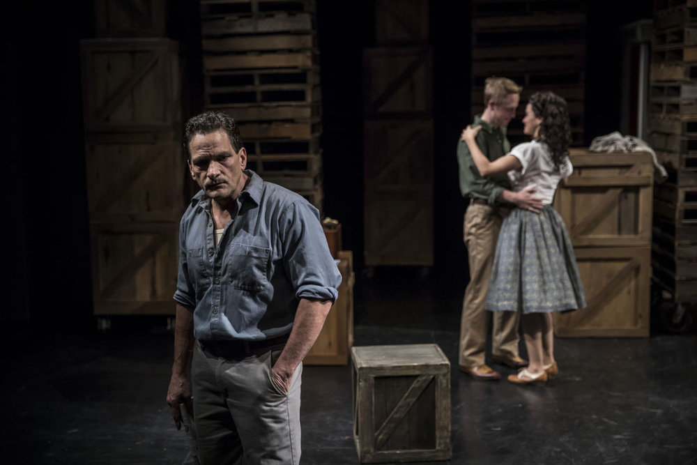 American Players Theatre's current production of The View from the Bridge.