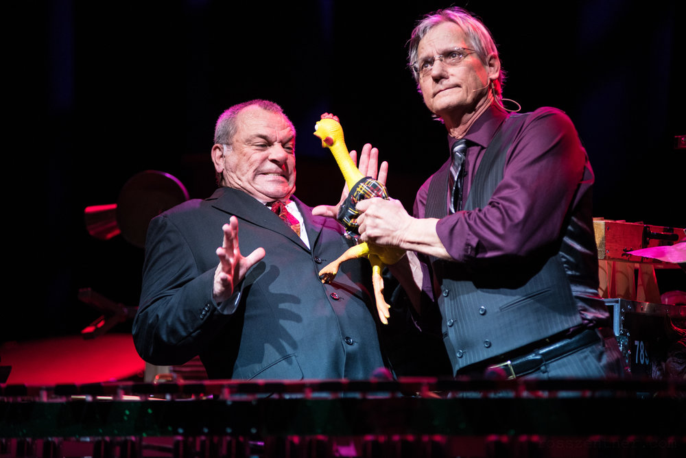 """Ray Jivoff and Michael """"Ding"""" Lorenz. Photo by Ross Zentner."""